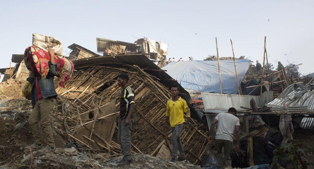 113 morts dans l'éboulement de la décharge en Éthiopie, selon un nouveau bilan