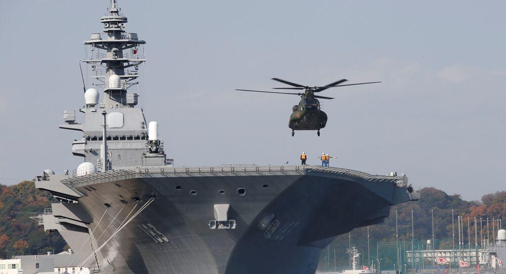 Porte-hélicoptères Izumo