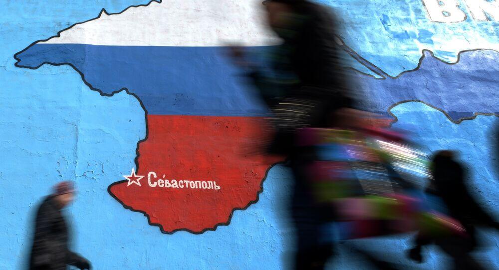 Graffiti: Carte de la peninsule de Crimée