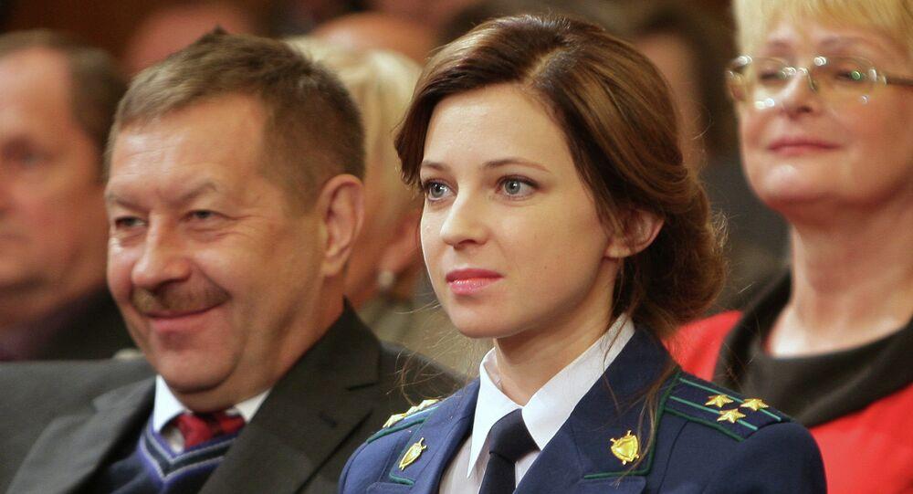 Natalia Poklonskaïa: il faut que Kiev se fasse à l'idée que la Crimée est étrangère