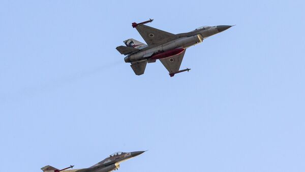 F-16 israélien - Sputnik France