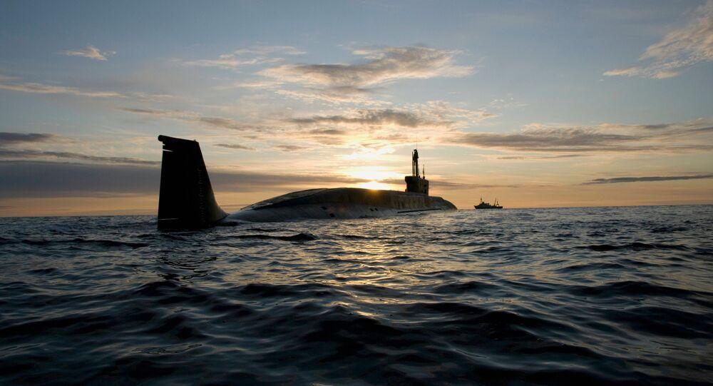 Un sous-marin nucléaire russe