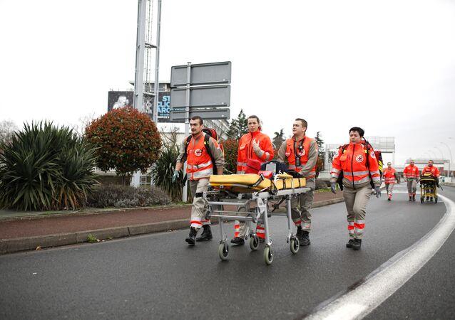 l'aéroport Orly après la fusillade