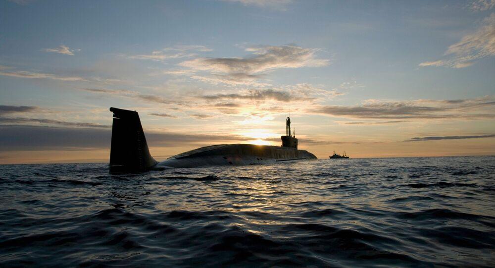Un sous-marin russe