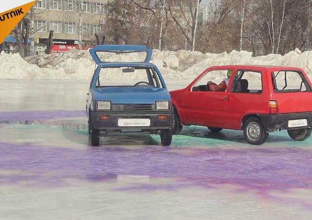 Le curling comme vous n'avez jamais osé l'imaginer!