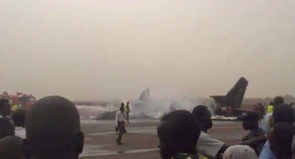 Crash d'avion à l'aéroport de Wau, au Sud-Soudan