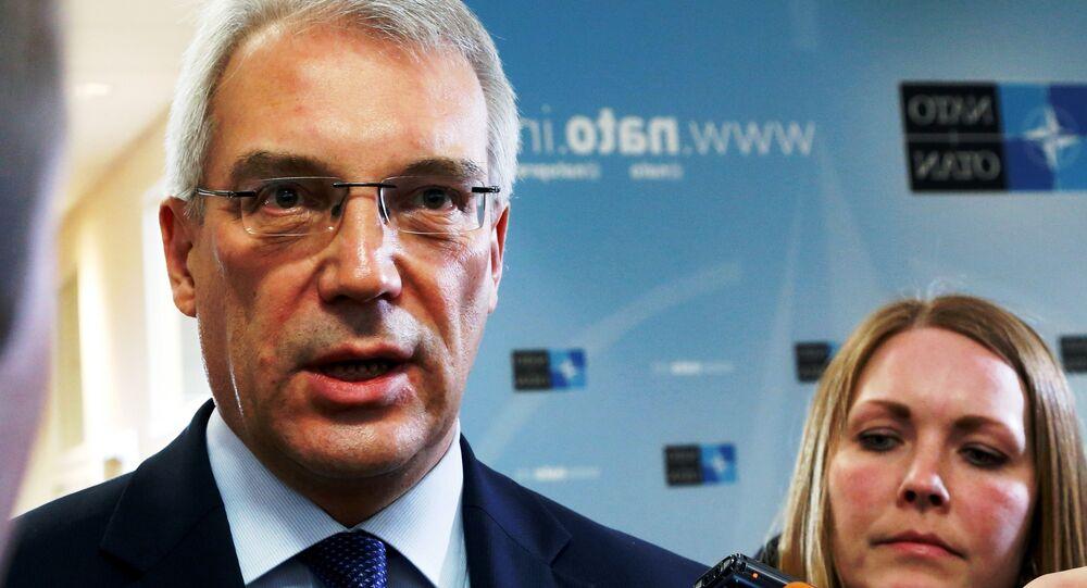 Alexandre Grouchko, ambassadeur de Russie auprès de l'Otan