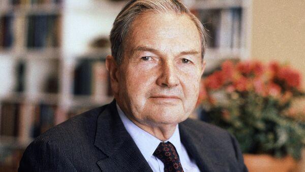 David Rockefeller - Sputnik France