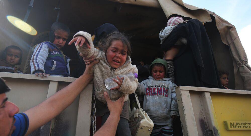 Près de 260.000 civils ont quitté Mossoul en un mois