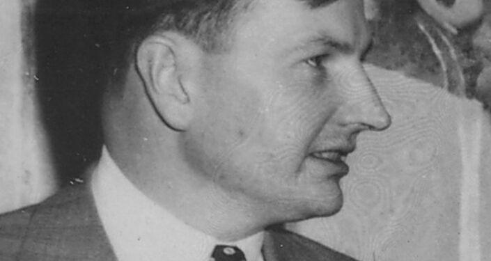 David Rockefeller en 1953