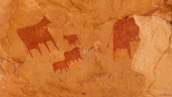 Les peintures rupestres du site d'Archei, au Tchad, datant de 4.000 av. J-C - Sputnik France