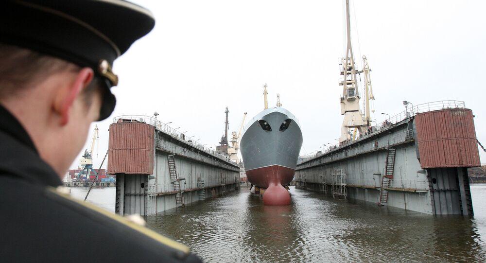 Les vérifications de la frégate Amiral Gorchkov ont pris fin au chantier naval de Saint-Pétersbourg