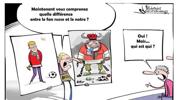 Hooligans ou lutteurs traditionnels? - Sputnik France