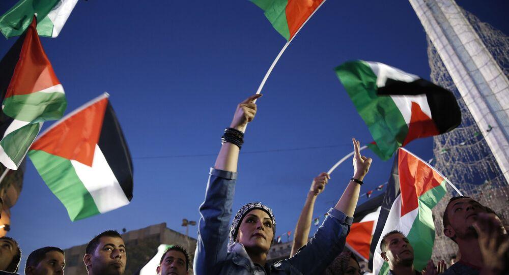 Palestiniens. Archive photo