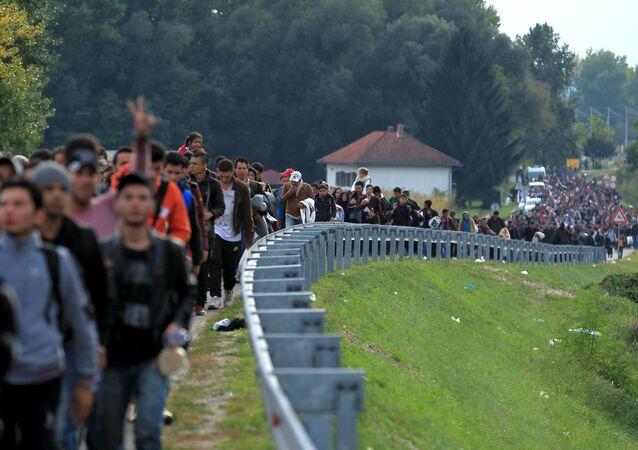 L'OIM a calculé le nombre de migrants arrivés en Europe depuis le début de l'année 2017