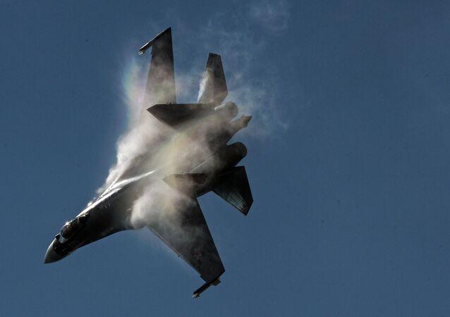 Un chasseur russe Su-35