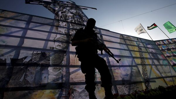 Un combattant du Hamas dans la bande de Gaza - Sputnik France