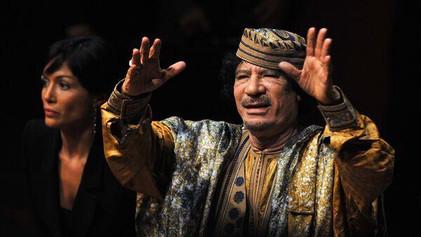 Kadhafi - Sputnik France