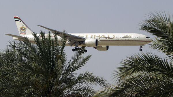 Un avion d'Etihad Airways - Sputnik France