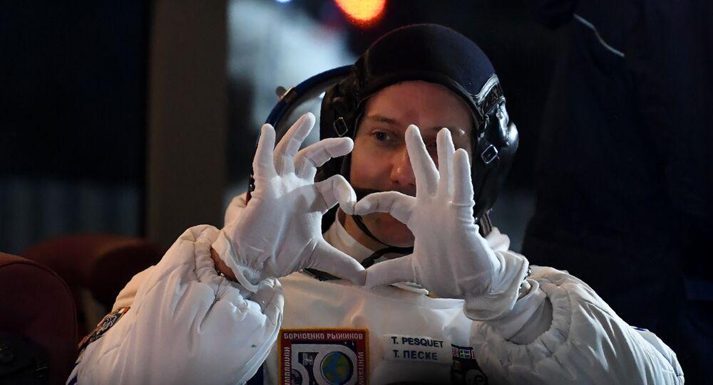 Expert ès confinement, l'astronaute Thomas Pesquet dispense ses conseils — Coronavirus