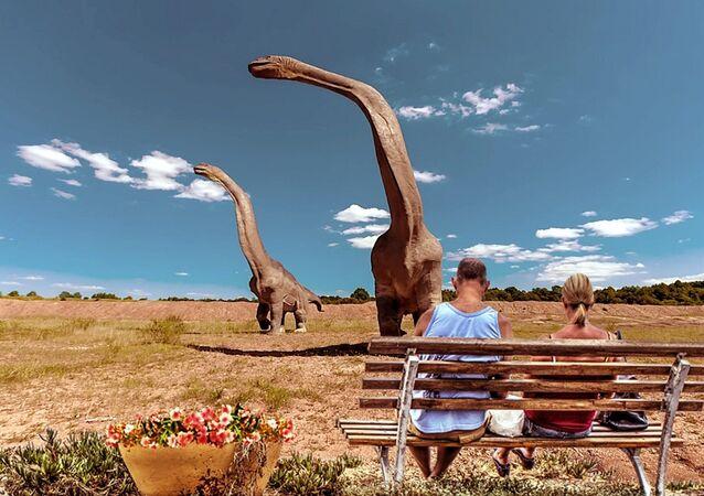 La plus grande empreinte de dinosaure découverte dans le Jurassic Park australien