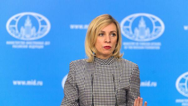 ministère des Affaires étrangères Maria Zakharova - Sputnik France