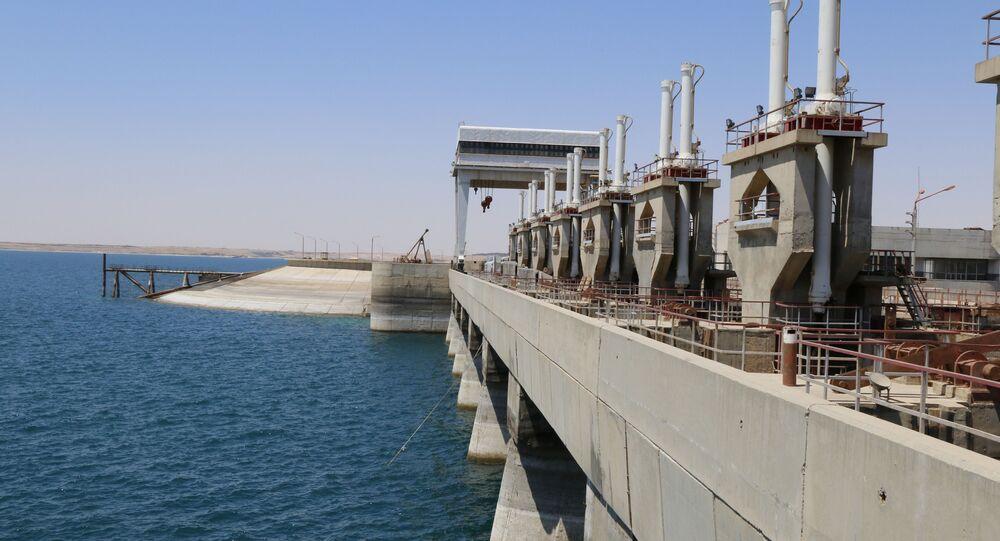 barrage syrien de Tabqa