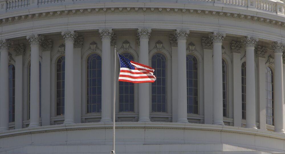 Le Capitol des Etats-Unis, le lieu des réunions du Congrès des Etats-Unis