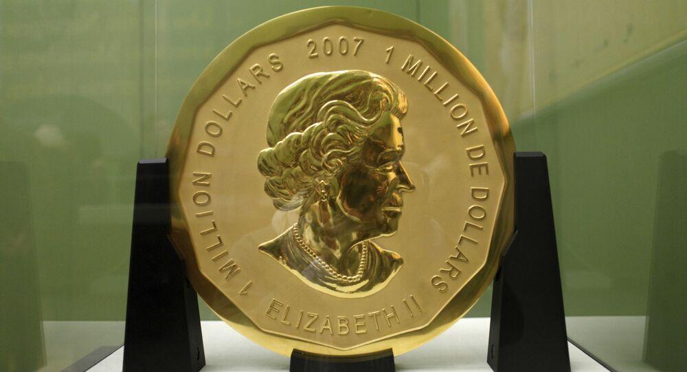 Big Mapple leaf,  une pièce commémorative frappée par la Monnaie royale canadienne en 2007
