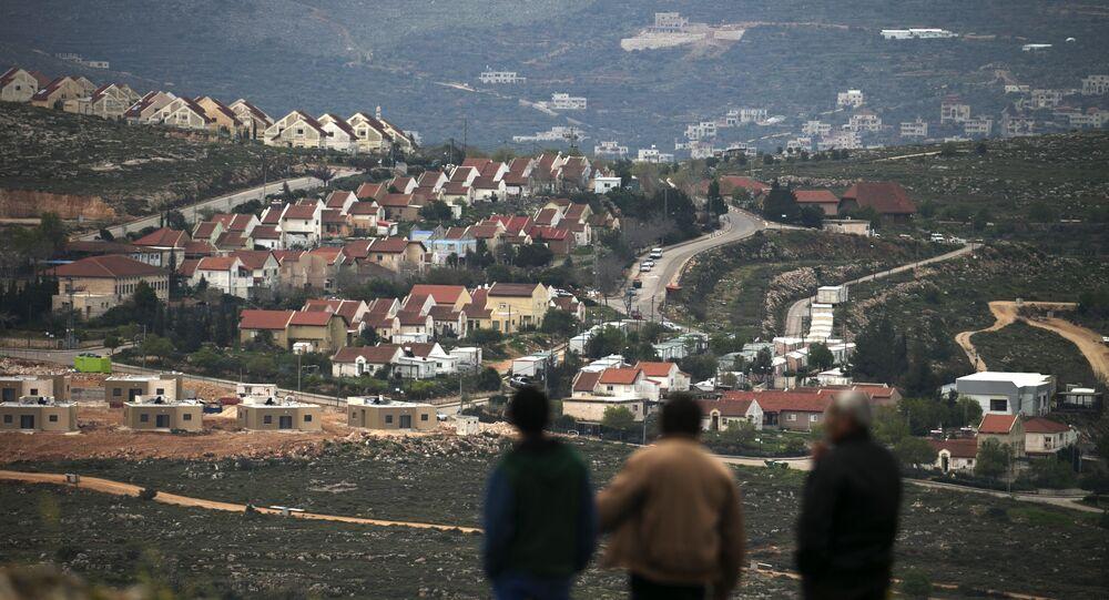 Une colonie israélienne en Cisjordanie. Photo d'archive