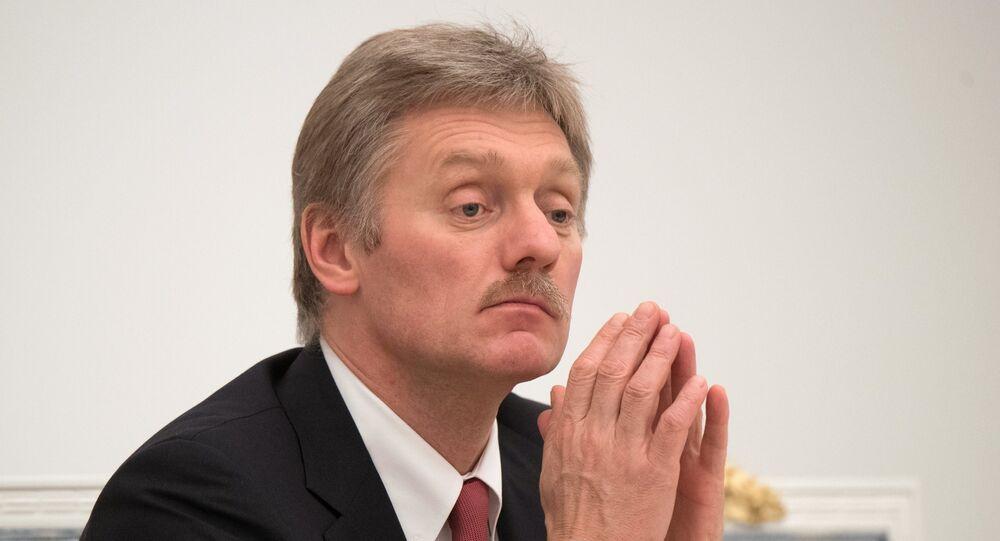 Le porte-parole du Kremlin Dmitri Peskov