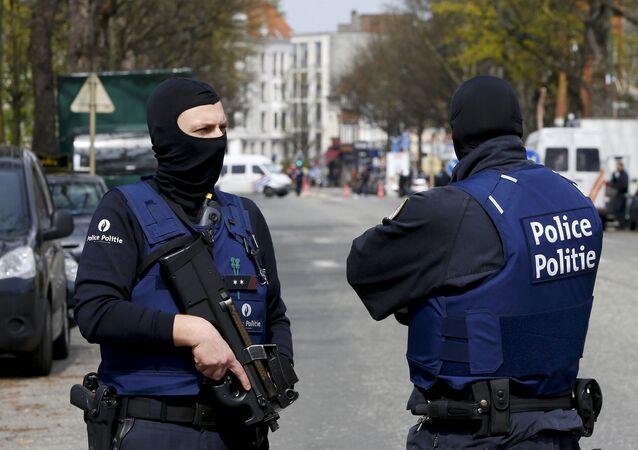 Police à Bruxelles