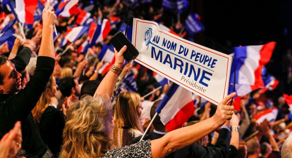 partisans de Marine le Pen