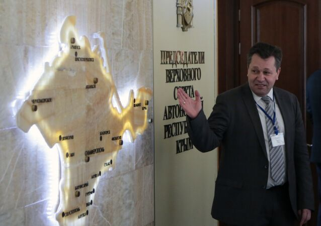 Andreas Maurer auf der Krim