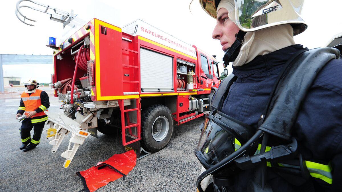 Le pompier craque