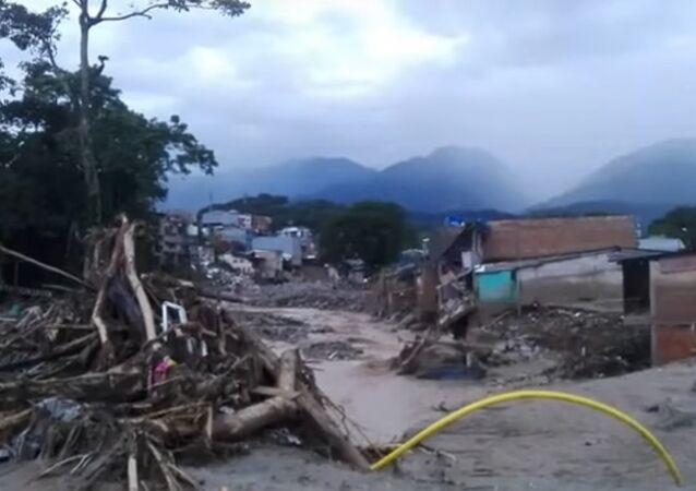 Plus de 250 morts dans une coulée de boue, la Colombie en deuil
