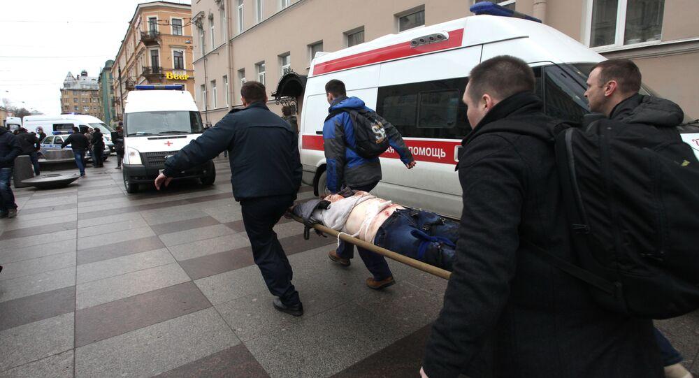 Explosion de Saint-Pétersbourg: le bilan s'alourdit à 14 morts