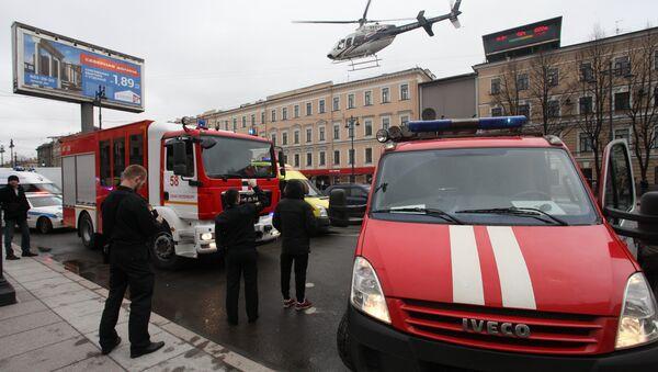 Explosion à Saint-Pétersbourg: «L'objectif est de semer le chaos en Russie» - Sputnik France