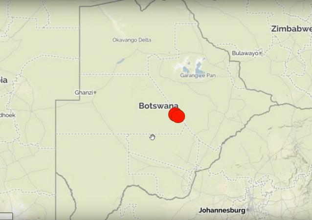 Séisme au Botswana