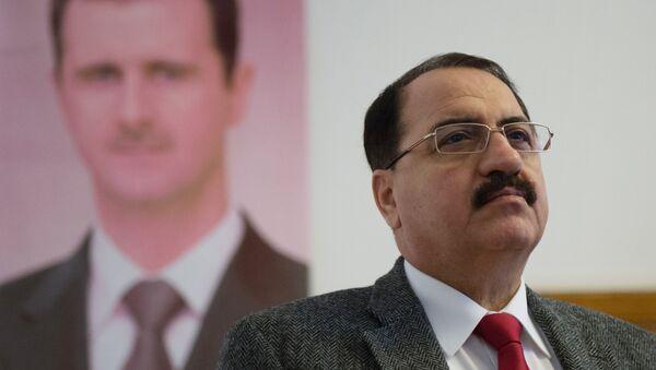 L'ambassadeur de Syrie en Russie Riyad Haddad - Sputnik France