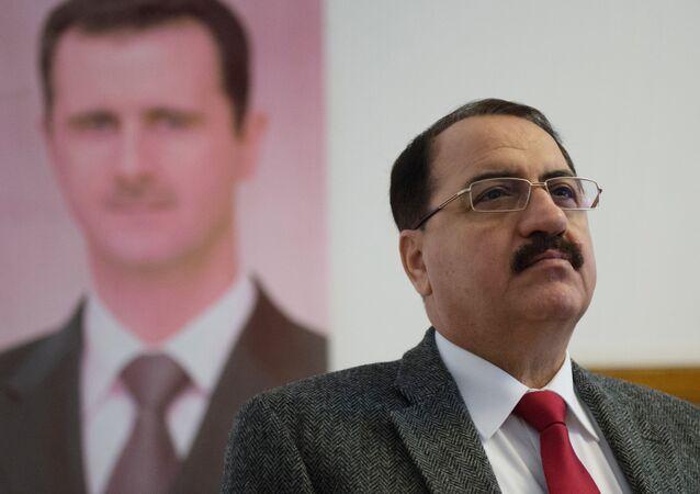 L'ambassadeur de Syrie en Russie Riyad Haddad