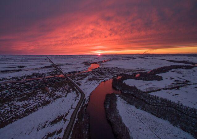 L'hiver en Russie