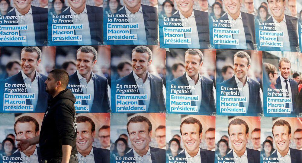 Macron trébuche dans les sondages après le débat présidentiel