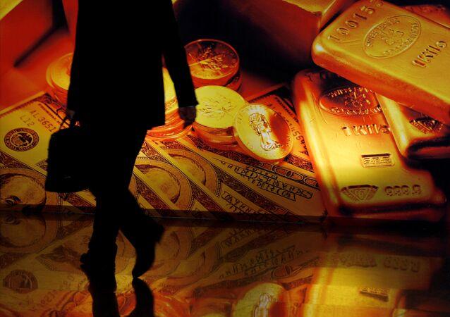 La hausse du cours de l'or, mauvais présage pour le dollar?
