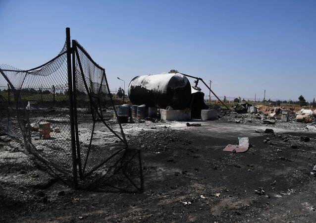 La base de Shayrat après l'attaque américaine