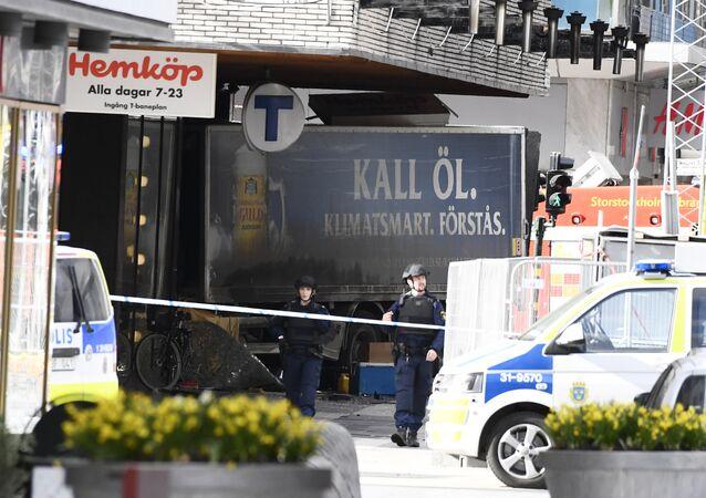 Situation à Stockholm suite à l'attentat