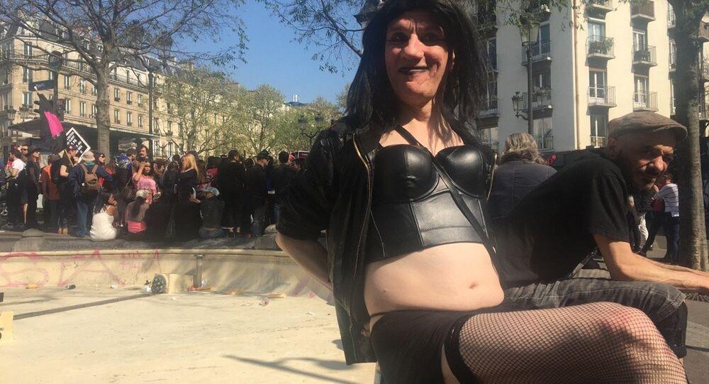 Manifestation des travailleurSEs du sexe & AlliéEs à Paris