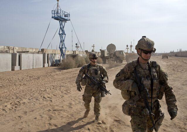 Des soldats américains (image d'illustration)