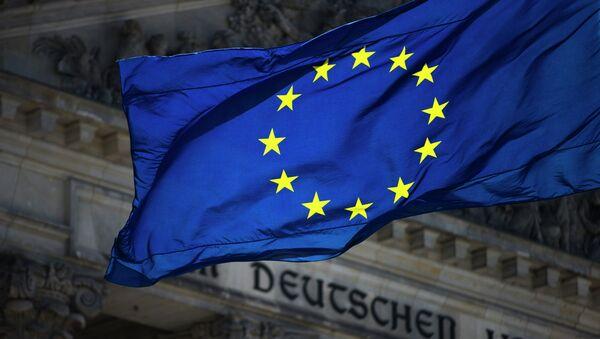 Флаг ЕС на фоне Рейхстага - Sputnik France