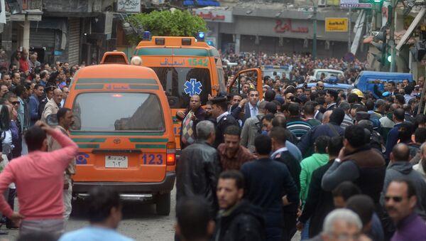 Situación en Alejandría tras la explosión cerca la catedral copta de San Marcos - Sputnik France